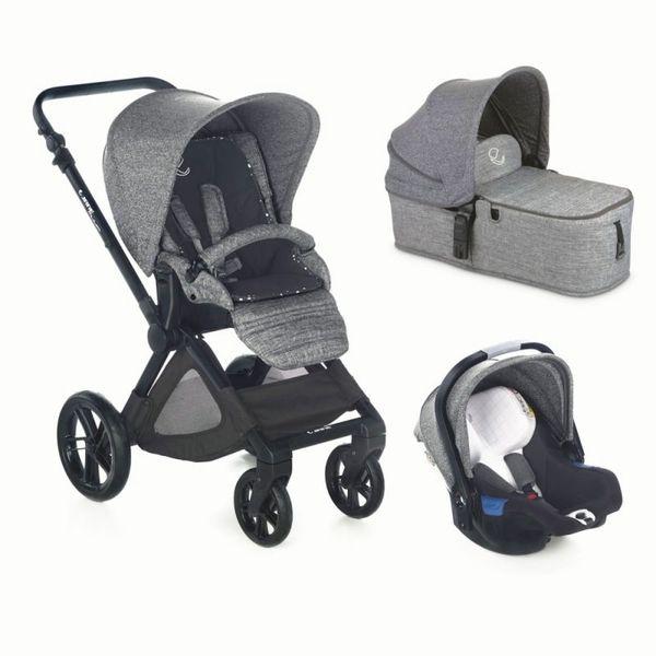 Jane 2018 Бебешка количка Muum Formula Koos 3в1 i-Size сив T29
